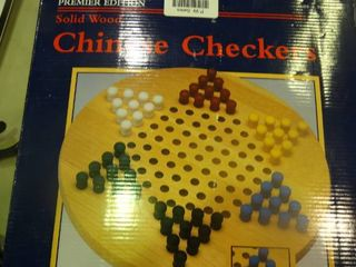 Solid Wood Chinese Checkers