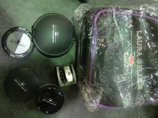 lot of laura Geller Cosmetics with Carrying Bag