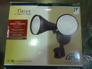 Patriot lighting Dual Head Motion Detector