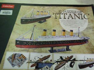 3D Puzzle of Titanic