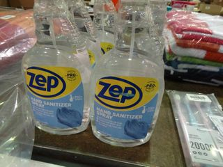 lot of Zep Hand Sanitizer Spray