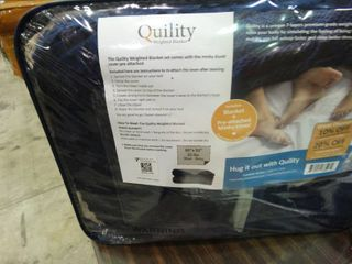 Quility 25lb Weighted Blanket