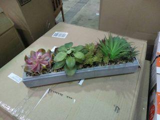 Artificial Succulent Decor