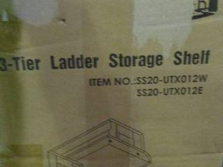 3 Tier ladder Storage Shelf