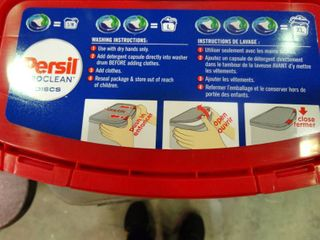 Persil ProClean Detergent Discs