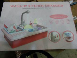 Wash Up Kitchen Sink Play Set