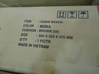 Moka Cabin Bench