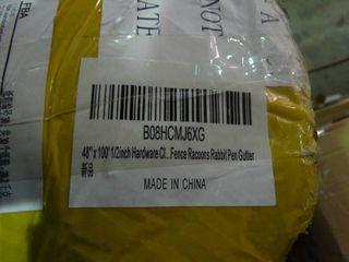 48  x 100  1 2inch Hardware Cloth Galvanized Welded Cage Wire