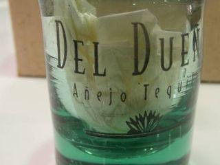 lot of Del Dueno Shot Glasses