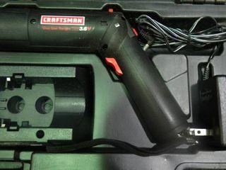 Craftsman Cordless Screwdriver in Case