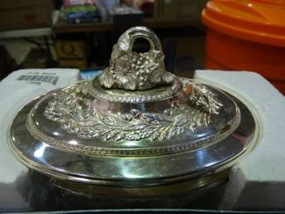 Tarnish Protected Decorative Dish with lid