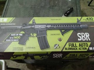 SBR Full Auto Blowback Action BB Rifle
