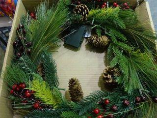 light Up Wreath