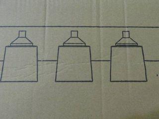 3 lamp Make Up lamp