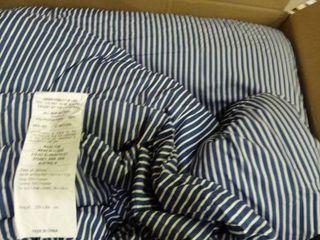 Striped King Comforter