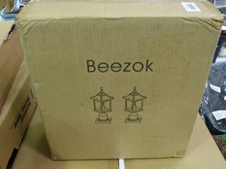 Pair of Beezok Outdoor light Fixtures