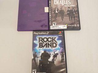 The Beatles Rock Band  Rock Band Playstation 2 Games