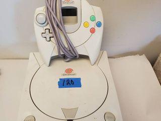 Sega Dream Cast  One Dreamcast Controller  Memory Card