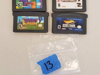 Nintendo DS  DS lite  Game Cartridges  Backyard Football  Spyro  Hotwheels  Tetris WorlDS