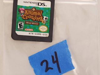 Nintendo DS Game Cartridge  1  Animal Crossing Wild World