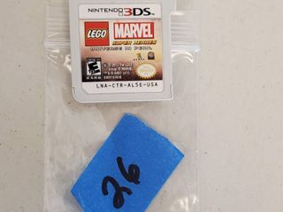 Nintendo DS 3 lego Marvel Game Cartridge