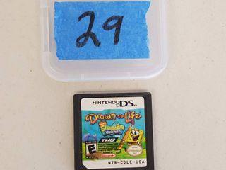 Nintendo DS Spongebob Drawn To life