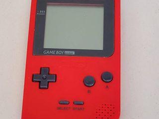 Pocket Gameboy Red Model No  MGB 001