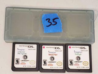 Nintendo DS Imagine Interior Design  Imagine Teacher  Imagine Babyz with Case