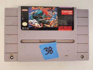Super Nintendo Game Street Fighter 2