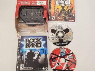Guitar Hero  Guitar Hero 2  Guitar Hero 3  Rockband