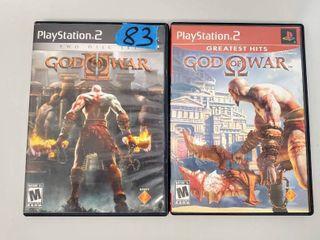 God Of War   God Of War 2 Playstation Games