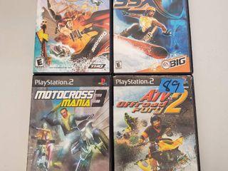 ATV Offroad Fury 2  Motocross Mania 3  SSX  Splashdown Rides Gone Wild Playstation 2 Games