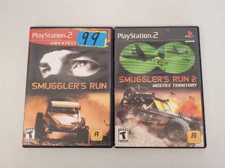 Smugglers Run  Smugglers Run 2 Playstation 2 Games