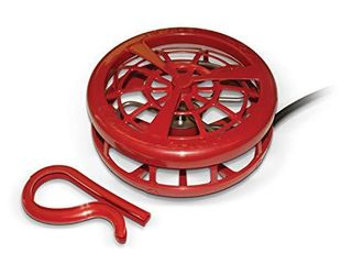 K H Pet Products Ultimate Stock Tank Deicer w  Cord Clip Red 1000 Watts