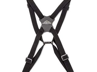 North Mountain Gear Binoculars Harness   DSlR Camera Harness Strap   4 Way Adjustable with Quick Release Buckles