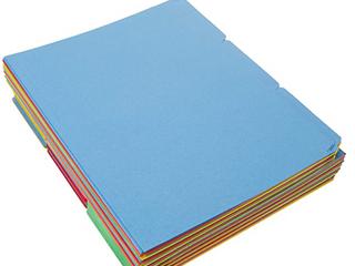 Amazon Basics File Folders   letter Size  100 Pack  Assorted Colors