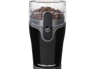 Hamilton Beach Fresh Grind 4 5 Oz Electric Coffee Grinder for Beans  Spices and More  Stainless Steel Blades  Black