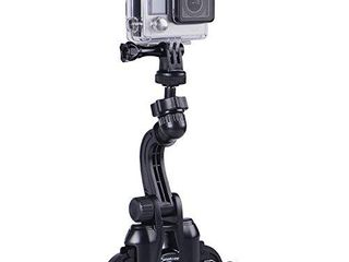 Smatree Double Suction Cup Mount with Greater Suction Power Compatible for Gopro Max Hero 9 8 7 6 5 4 3 3 2 1  Hero Session for DJI OSMO Action Camera