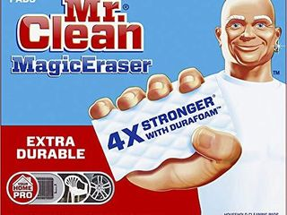Mr  Clean Magic Eraser Extra Durable  Cleaning Pads with Durafoam  10 Count
