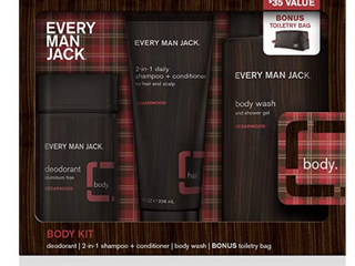 Every Man Jack Body Kit Cedarwood
