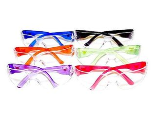 G   F 13016 6 EyePRO Scratch  Impact   Ballistic Resistant Safety Goggles with Clear lens  6 Pack