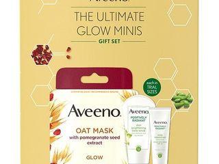 Aveeno Ultimate Glow Minis Skincare Gift Set   1 0 ea