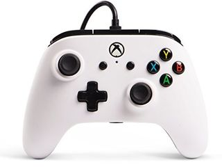 Enhanced Wired Controller for Xbox One   White  Gamepad  Wired Video Game Controller  Gaming Controller  Xbox One  Works with Xbox Series X S
