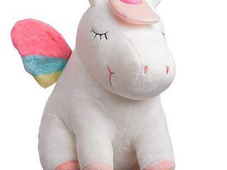 Unicorn Stuffed Animal with lED lights   Unicorns Plush Pillow  Huggable Unicorn Gifts for Girls with Magical lights   Big Version