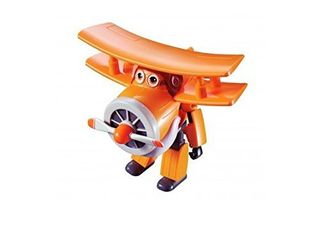 Super Wings   Transforming Grand Albert Toy Figure  Plane  Bot  5  Scale