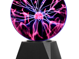 Gresus 6 Inch Magic Plasma Ball lamp   Touch   Sound Sensitive Interactive USB Powered Plasma lamp Nebula Sphere Globe  Science Educational Gift for Decorations Parties Bedroom