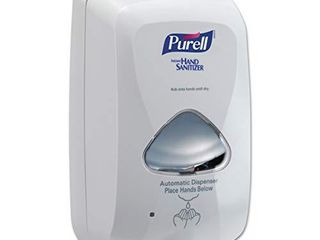 PUREll TFX Touch Free Foam Hand Sanitizer Dispenser  Dove Grey  for PUREll TFX 1200 ml Foam Hand Sanitizer Refills  Pack of 1    2720 12  excludes refills