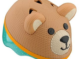 Schwinn Kids Bike Helmet with 3D Character Features  Infant and Toddler Sizes  Infant  Teddy Bear