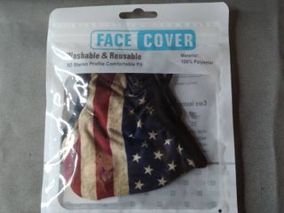 FACE MASK 1 WASHABlE AND REUSABlE