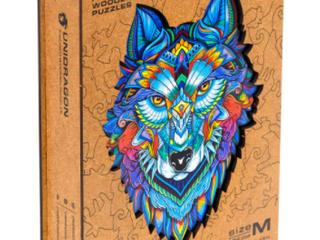 Unidragon Majestic Wolf Wooden Puzzle
